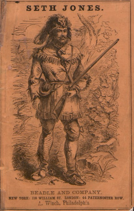 Illustrated cover featuring a trapper in a classic animal-skin hat