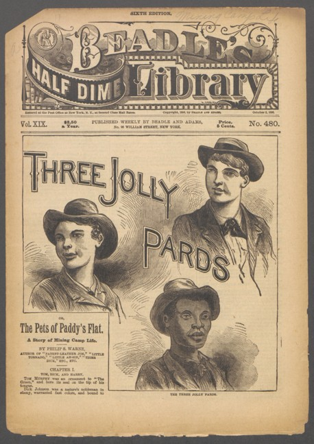 Cover art featuring three men in bowler hats.