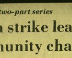 Headline from a newspaper article about the Pullman Strike and purported outcomes