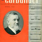 Front cover of the book titled The Carbuilder featuring portrait of George Pullman