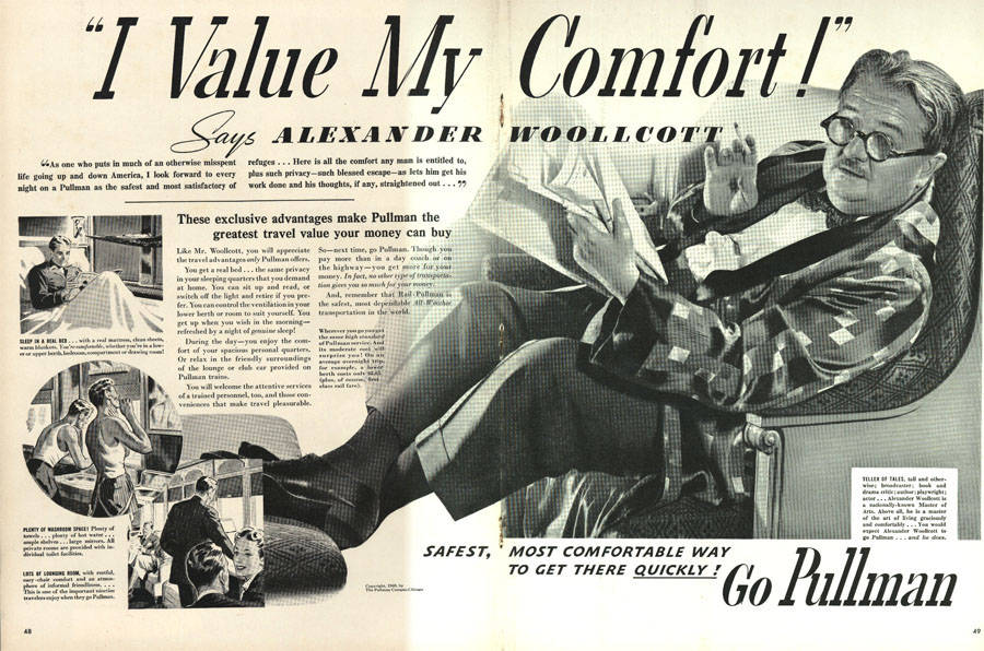 I_value_My_Comfort_Says_Alexander_Woollcott