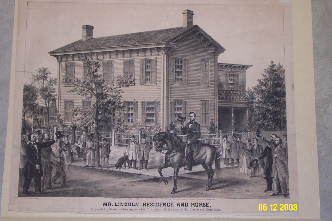 Lincoln Residence and Horse